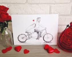 tandem bicycle wedding invitations bike invite vintage