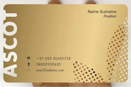 Credit Card Business Cards Designs Metallic Business Cards Design By Frosty Plastic Transparent