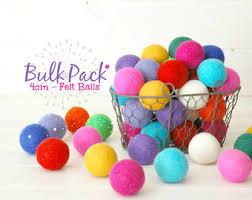 3cm 4cm felt balls craftywoolfelt