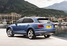 bentley rear bentley bentayga diesel revealed gets tri turbo v8 performancedrive