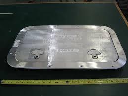 pearson triton 381 glissando aluminum cockpit access hatch