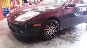 2004 lexus es330 sedan hillyard custom rim u0026tire 2006 lexus es330 20 inch concave mesh