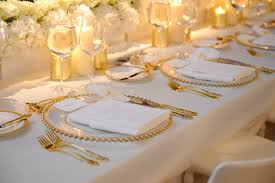plate liner gold glass bead regal gold flatware dolce crystal