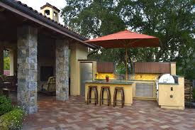 Patio Bar With Umbrella Synthetic Outdoor Umbrellas Patio Mediterranean With Stainless