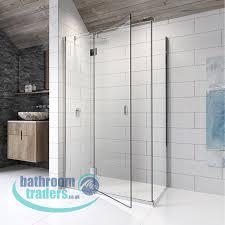 bathroom traders online bathroom store showroom in derby kudos pinnacle8 hinged shower screen d 571 80 818 80