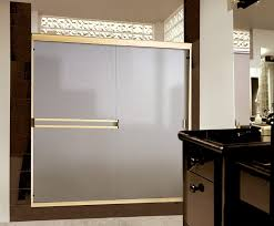 Frosted Glass Pocket Door Bathroom Modern Interior Sliding Door Featuring Frosted Glass Panel