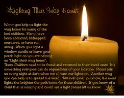 light a candle for someone how you can light a child s way home lighting their way home