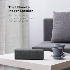 deal taotronics rock wireless bluetooth speaker 36 w code 11