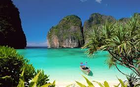 ko phi phi leh beach in thailand where the film the beach was