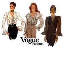 90s womens high neck top pattern kwik sew 2297 vintage sewing