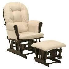 rocking chair cushions nursery modern glider ebay