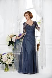 modern dress modern v neck floor length blue chiffon of the dress