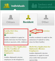 apply for family visit visa online in saudi arabia poison world