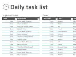 sample task list project task list template 10 free sample
