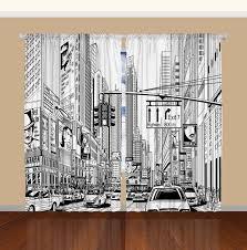 Manhattan Curtains Times Square Manhattan New York City Broadway Bedroom Living