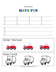 number worksheets