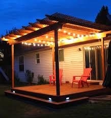 Outdoor Pergola Lights by Marvelous Design Pergola Lights Entracing Outdoor Pergola And