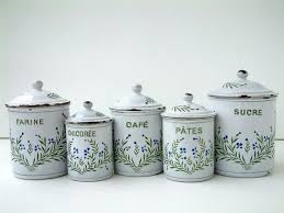 fashioned kitchen canisters 190 best cannister sets images on vintage canisters