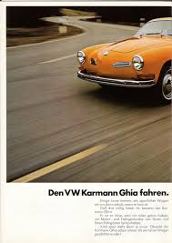 1972 karmann ghia thesamba com 1972 vw karmann ghia sales brochure german