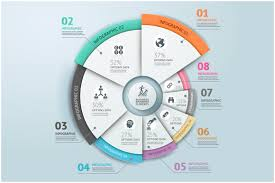 business infographic circle template presentation templates
