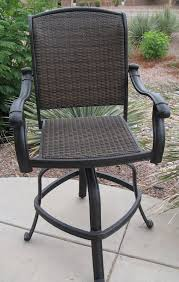 Patio Bar Chair Amazing Outdoor Swivel Bar Stool Outdoor Wicker Bar Stools Patio
