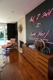 neon sign wall decor home design