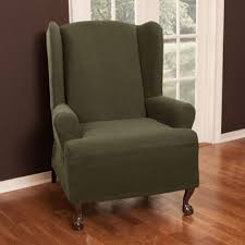 Windsor Chair Slipcovers Smart Cover Pixel Stretch 1 Pc Wing Chair Slipcover
