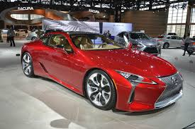 lexus lc 500 competition lexus lc 500 looks drop dead gorgeous in chicago