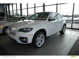2009 alpine white bmw x6 xdrive50i 5438454 gtcarlot com car