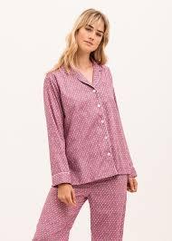ladies cotton pyjamas luxury british nightwear pj pan