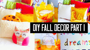 diy room decor for fall spice up your room no sew pillows