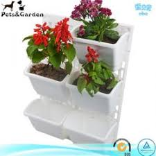 vertical garden kits plastic flower pots