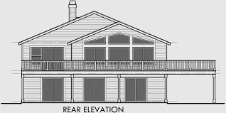 house plans with garage in basement house plans with side garage sloping lot house plans house plan