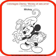 coloriage mickey et ses amis coloriage mickey