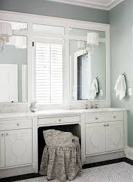 Trim For Mirrors In Bathroom Mirrored Vanity Tray Bathroom Traditional With Bathroom Mirrors