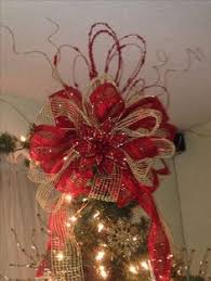how to make a tree topper bow tree toppers tree and yards