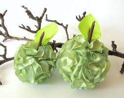 handmade home decoration accessories green apples luulla
