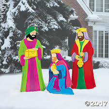 Nativity Outdoor Decorations Kings Yard Décor