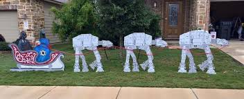 wars christmas decorations best wars christmas lawn decorations christmas decorations
