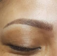 eyebrow tattoo price for natural stroke eyebrows