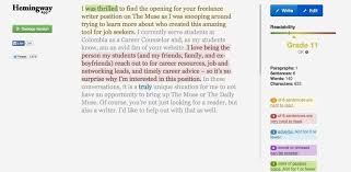a quick way to tell how your cover letter sounds to others