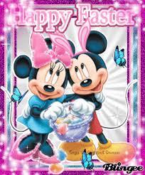 Minnie Mouse Easter Sticker Via Giphy ᗩᒪᒪ ᗩᗷoᑌt ᗪiᔕᑎey ᔕ ᑕᕼᗩᖇᗩᑕteᖇ ᔕ