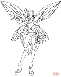 winx club coloring pages free coloring pages