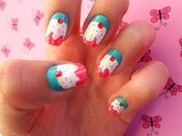 35 cute cupcake nail art design ideas for trendy girls