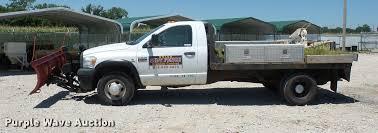 Dodge Ram Pickup Truck - 2007 dodge ram 3500 flatbed pickup truck item dh9070 sol