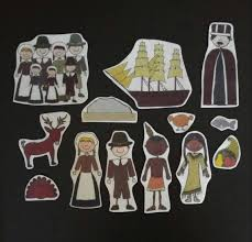 thanksgiving flannel board stories felt set with story