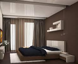 chambre couleur chocolat decoration rideaux chambre voilages couleurs foncées murs couleur