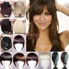clip in fringe clip in fringes hair extensions ebay