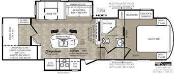Bunkhouse Trailer Floor Plans Forest River Introduces Bunk House Floor Plan For Wildcat U2013 Vogel