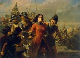 Joan Of Arc Flag Joan Of Arc Real Life Heroes Wiki Fandom Powered By Wikia